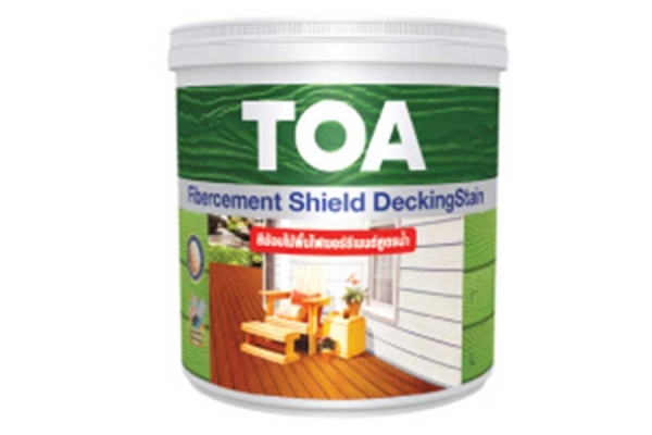TOA FIBERCEMENT SHIELD DECKINGSTAIN